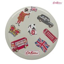 Cath Kidston★POCKET MIRROR LONDON STAMPS STONE