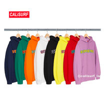SS18 Supreme Cord Collegiate Logoフーディー/M-XL/ALL COLOR