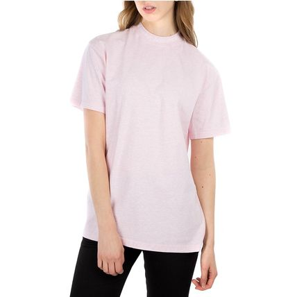 Acne Tシャツ・カットソー [Acne] Gojina dyed T-shirt ロゴ入ボーイフィットTシャツ 2色(11)