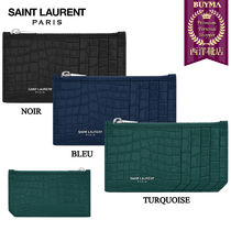 【正規品保証】SAINT LAURENT★18春夏★5 FRAGMENTS ZIP POUCH