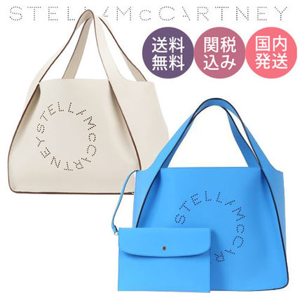 【送関込】Stella McCartney♪完売前に!ロゴトートバッグ