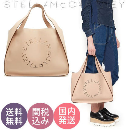【送関込】Stella McCartney♪大人気!シンプルロゴトートバッグ