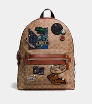 Coach ◆ 30627 Coach x Keith Haring academy backpack