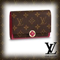 2018SS【LOUIS VUITTON】 ポルトフォイユ・フロール コンパクト