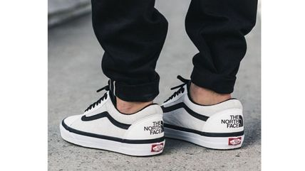 "最短2日 Vans × The North Face ""Old Skool"" ホワイト"