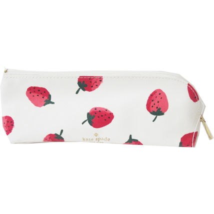 kate spade new york ペンケース 即納Kate spadeNY strawberries pencil case鉛筆,消しゴム定規付(2)