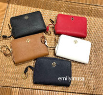 TORY BURCH★EMERSON ZIP COIN CASE キーリング付き*5色