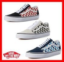 NEW★人気【VANS】★ OLD SKOOL CHECKERBOARD★3色☆UNISEX★