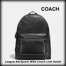 ★COACH★  リーグ バックパック ウィズ コーチ リンク
