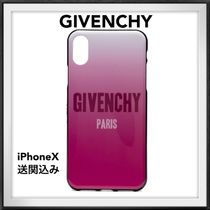 ◆GIVENCHY◆iPhone X ケース ロゴ グラデーション