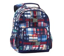Pottery Barn Kidsリュック<Navy Madras Plaid>Small