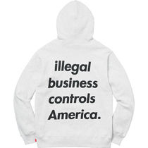 1 week SS18 (シュプリーム) X Illegal Business Hooded