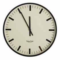 【House Doctor】北欧デンマーク☆Vintage watch wall clock(大)