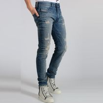 【DIESEL】Distressed  Jeans THOMMER ダメージ&ペイント加工