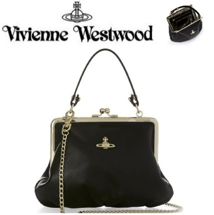 ★Vivienne Westwood★Nappaポシェット/クラッチバッグ♪