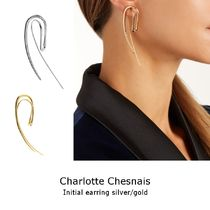 Charlotte Chesnais◆Initial シングルピアス gold/silver