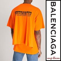 【国内発送】Balenciaga Tシャツ Speedhunter cotton-jersey