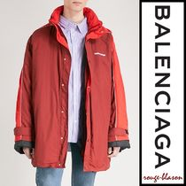 【国内発送】Balenciaga コート Logo-detail shell coat