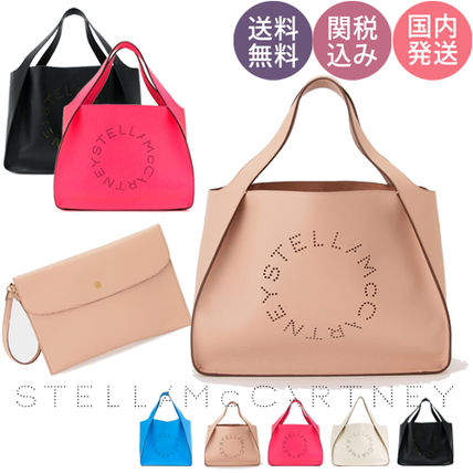【送関込】Stella McCartney♪大人気!ロゴトートバッグ 各色