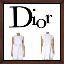 ★DIOR《 WHITE COTTON TOP WITH EMBROIDERED BEE》送料込み★