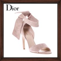 ★★DIOR《  SUEDE LEATHER SANDALS WITH STRIP  》送料込み★★