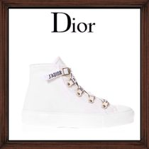 ★DIOR《  WHITE WITH LOGO LACED SNEAKERS  》送料込み★