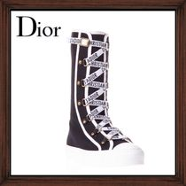 ★DIOR《  BLACK WITH LOGO LACED SNEAKERS  》送料込み★