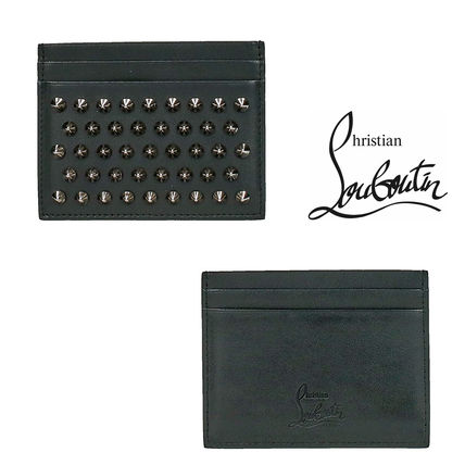 追跡ありで安心☆CHRISTIAN LOUBOUTIN KIOS SIMPLE CARD HOLDER