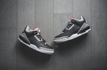 "2018年復刻 Nike Air Jordan 3 Retro OG ""Black Cement"" 送料込"