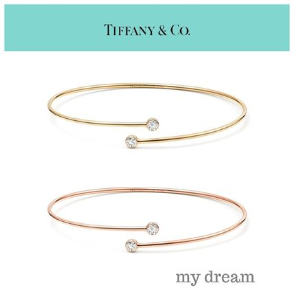 【Tiffany & Co】Elsa's Diamond Hoop Bangle in 18k Gold