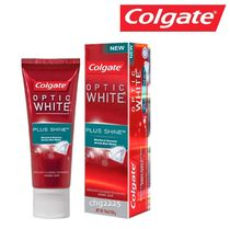 Colgate optic WHITE PLUS SHINE コルゲート歯磨き粉 100g×1個