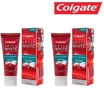Colgate optic WHITE PLUS SHINE コルゲート歯磨き粉 100g×2個