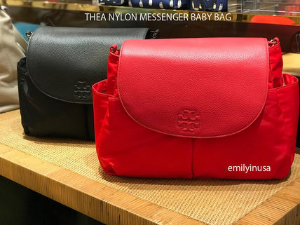 e81d7d8fdcff Tory Burch マザーズバッグ TORY BURCH☆大人気 THEA NYLON MESSENGER BABY BAG ...
