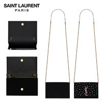 【正規品保証】SAINT LAURENT★18春夏★KATE CHAIN WALLET_BLACK