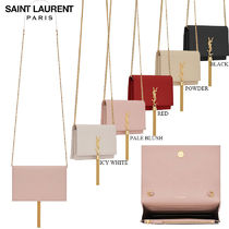 【正規品保証】SAINT LAURENT★18春夏★KATE TASSEL CHAINWALLET