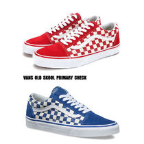 VANS★OLD SKOOL★PRIMARY CHECK★チェック柄★兼用★2色