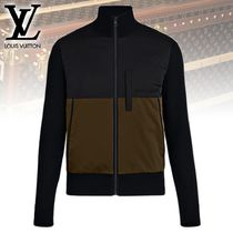 【直営店買付】Louis Vuitton BLOUSON COLOR-BLOCK AVEC DEVANT