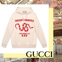 GUCCI グッチ Guccify Yourself プリント 長袖 トレーナー