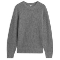 "ARKET(アーケット) ニット・セーター ""ARKET""Recycled Cashmere Jumper Gray"