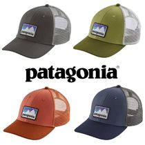 【送料,関税込み】patagonia Shop Sticker Patch Trucker 帽子