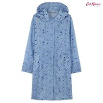 Cath Kidston★LONG RAINCOAT IN A BAG KITES SOFT BLUE