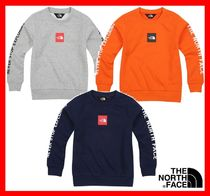 NEW★ [THE NORTH FACE] KIDS ☆K'S SQUARE LOGO SWEAT SHIRTS★
