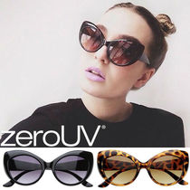 全7色*送料無料zeroUV*RETRO WOMENS FASHION CAT EYE SUNGLASSES