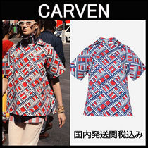CARVEN♡Carreaux プリントブラウス