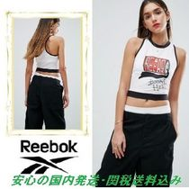 Reebok☆ X Local Heroes Cropped Tank Top In White♪