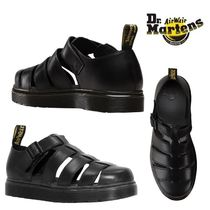 18SS新作! Dr. Martens VIBAL レザーフィッシャーマンサンダル