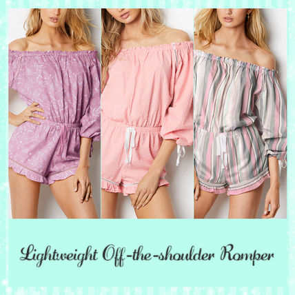 Victoria's Secret ルームウェア・パジャマ ★Victoria's secret★☆Lightweight Off-the-shoulder Romper♪
