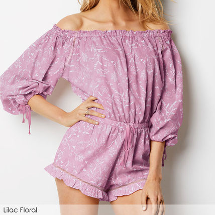 Victoria's Secret ルームウェア・パジャマ ★Victoria's secret★☆Lightweight Off-the-shoulder Romper♪(2)