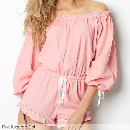Victoria's Secret ルームウェア・パジャマ ★Victoria's secret★☆Lightweight Off-the-shoulder Romper♪(4)