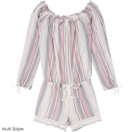 Victoria's Secret ルームウェア・パジャマ ★Victoria's secret★☆Lightweight Off-the-shoulder Romper♪(7)